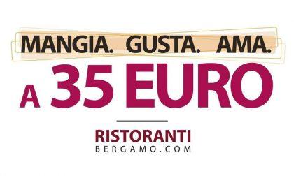 La nuova iniziativa di RistorantiBergamo: Mangia.Gusta.Ama, menù a 35 euro a persona