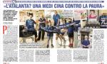 """Anche """"Famiglia Cristiana"""" dedica pagine all'Atalanta: «Medicina contro la paura»"""