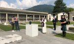 Commozione e una cornamusa: Cristian Persico riposa per sempre al cimitero di Casnigo