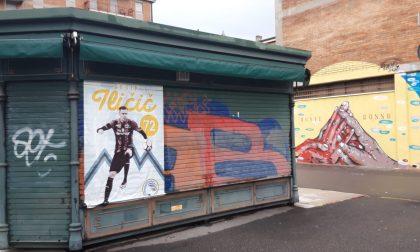 L'abbraccio di Bergamo a Ilicic non si ferma: in città spuntano dei manifesti a lui dedicati