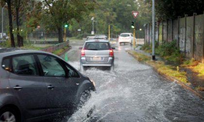 Bomba d'acqua nella Bassa, interventi ad Arcene, Cologno, Urgnano, Mornico e Martinengo
