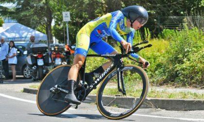 Ciclismo, bronzo bergamasco agli Europei di cronometro