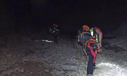 Restano bloccati sul Pizzo Arera, coppia di escursionisti viene recuperata illesa