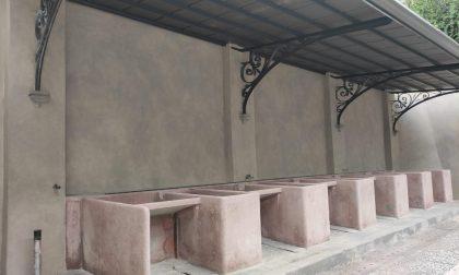 Restauro del lavatoio Sant'Erasmo, ormai ci siamo: lavori in dirittura d'arrivo