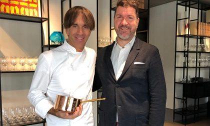 """""""Polenta a colori"""", lo chef Oldani coltiva in Bergamasca la novità della sua cucina pop"""