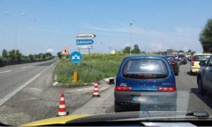La Lega ha raccolto cento firme per chiedere barriere fonoassorbenti alla Grumellina