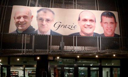 Volti e memoria, Casnigo ricorda don Giuseppe Berardelli e i morti del coronavirus