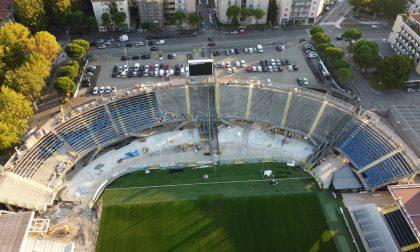 """Gewiss Stadium, ci siamo: oggi inizia la """"partita"""" con la Uefa per la Champions a Bergamo"""