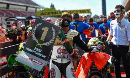 Il bergamasco Andrea Locatelli è campione del mondo nella categoria Supersport