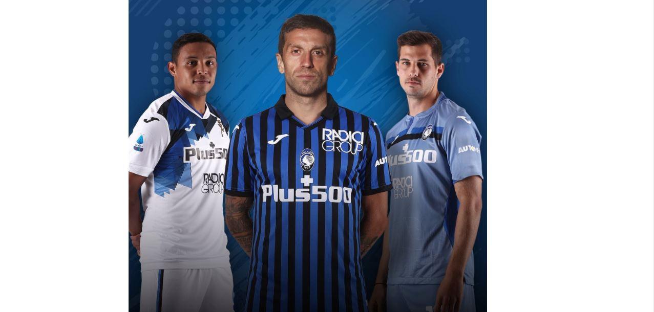 Ecco le nuove maglie dell'Atalanta per la stagione 2020/2021 ...