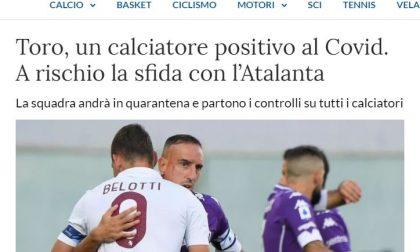 """Indiscrezione de """"La Stampa"""": positivo al Covid nel Torino, esordio della Dea a rischio"""