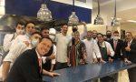Domenica bergamasca per Zlatan Ibrahimovic: pranzo e foto di rito al ristorante Da Vittorio