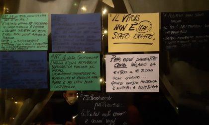 Le foto della manifestazione ad Alzano contro il nuovo Dpcm: «Vogliamo solo lavorare!»