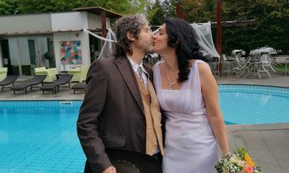 Remo e Isa, le prime nozze in perfetto stile western in quel di Azzano San Paolo