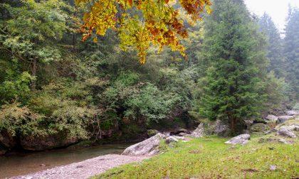 I mille colori della Val Sanguigno, una vera pepita verde incastonata nella Val Seriana