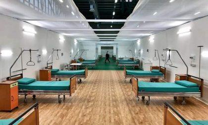 L'ospedale da campo alla Fiera è pronto a riaprire: il primo paziente è atteso lunedì