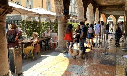 I dehors animeranno le strade e le piazze di Bergamo fino alla fine dell'anno