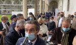 """Le foto e le parole di Fontana a Bergamo per il """"Piano Lombardia"""" (per la nostra terra 252 milioni)"""