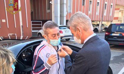 L'ispettore Ferrari guarisce dopo 7 mesi dal Covid, il saluto della Polizia: «Simbolo di speranza»