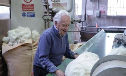 La Val Gandino piange Silvano Pasini, il pioniere della lana che era amico dei pastori
