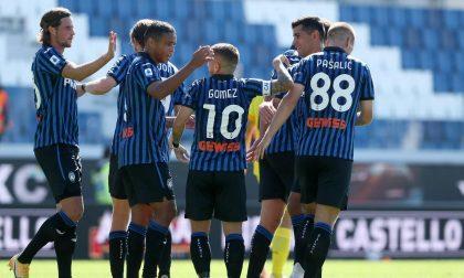 Tornado Atalanta, Cagliari spazzato via con 5 reti (a 2): tutti gli attaccanti in gol