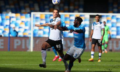 Stavolta quattro gol li ha fatti il Napoli. Dura lezione per la Dea