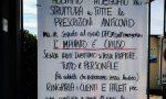 Piscine di Alzano, cartello polemico contro il nuovo Dpcm. E sui social infuria la polemica