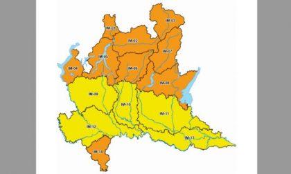 Allerta meteo (arancione) in Lombardia: precipitazioni forti e vento fino a 55 km/h