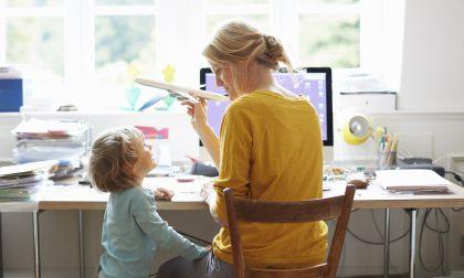 Che bello lo smart working se sei mamma di due bimbe e lavori a Milano