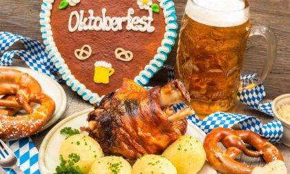La cucina calorica dell'Oktoberfest arriva al Fabric into the Woods