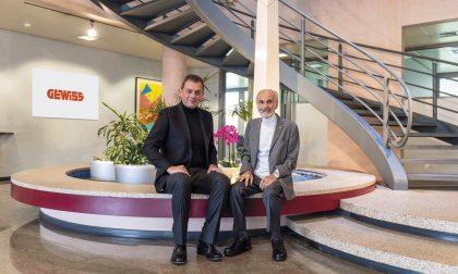 A 50 anni dalla fondazione, la Gewiss cambia presidente: il testimone a Fabio Bosatelli