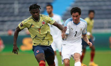 """Colombia """"nerazzurra"""", che scoppola! L'Uruguay batte 3-0 Zapata e compagni"""