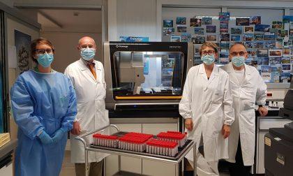Da 92 a 1.071 tamponi analizzati al giorno: la crescita del laboratorio dell'Asst Bergamo Ovest