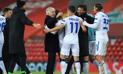 Atalanta, hai scritto la storia: è la quinta italiana capace di vincere col Liverpool ad Anfield