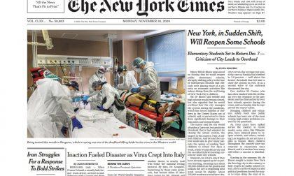 Il New York Times ha ricostruito il dramma di Bergamo e gli errori nella gestione del Covid