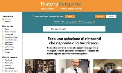 Dite addio a Deliveroo & Co.: è finalmente online RistoraBergamo.it