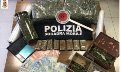 In casa nascondeva oltre due chili di droga: arrestato 24enne a Scanzo