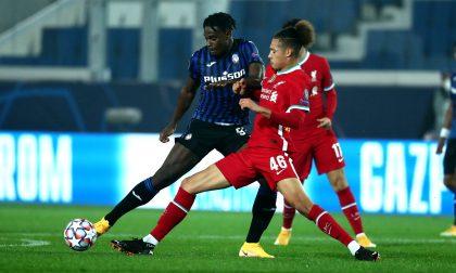 Troppo Liverpool per l'Atalanta, sconfitta che brucia (0-5) ma qualificazione sempre aperta