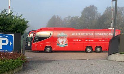 Verso Atalanta-Liverpool, il bus dei Reds è già arrivato (ma i giocatori ancora no)