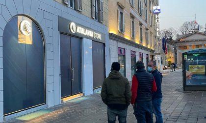 Nuovo Atalanta Store, ormai è questione di giorni. Aprirà in viale Papa Giovanni XXIII