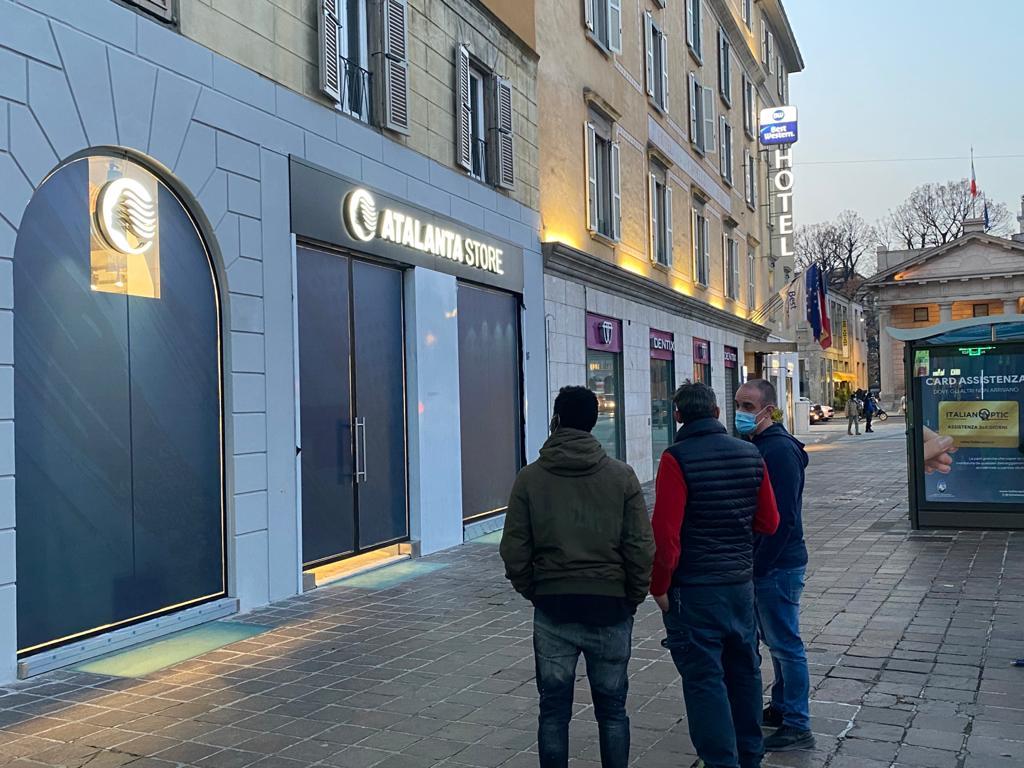 Nuovo Atalanta Store, ormai è questione di giorni. Aprirà in viale ...