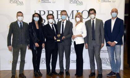 Ad Atalanta, Felice Gimondi, Michela Moioli e Giovanni Licini il premio Rosa Camuna