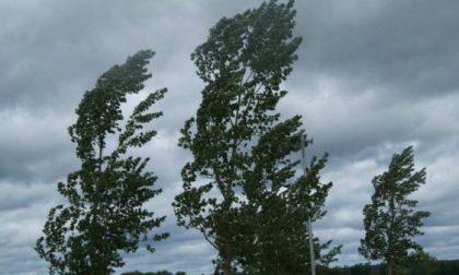 Allerta meteo della Protezione Civile: rischio vento forte in tutta la Bergamasca