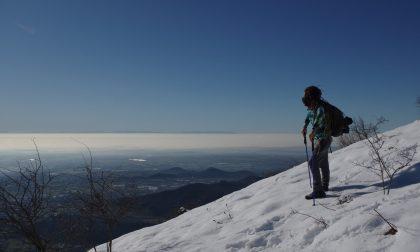 In cima al monte Misma, una piccola vetta che sa però regalare grandi panorami