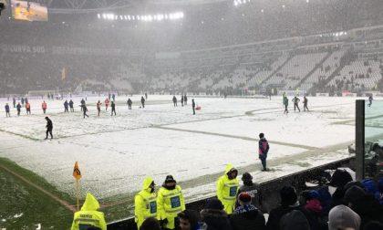 Il meteo ferma l'Atalanta ben 1.015 giorni dopo: era Juventus-Dea, a Torino nevicò