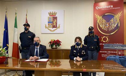 L'attività della Questura di Bergamo nel 2020: diecimila reati in meno rispetto al 2019