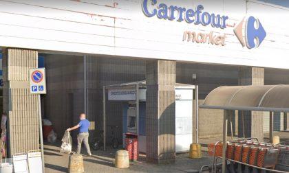 Esplosione nella notte a Mozzo: fatto saltare il bancomat fuori dal Gran Mercato dei Colli