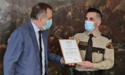 Salvò una ragazza gettandosi in un torrente a Nembro: encomio per Walter Torsello