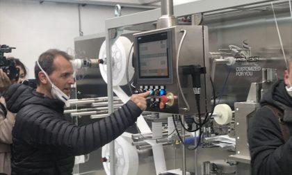 Somain Italia ha acceso la macchina che produrrà le sue semimaschere innovative