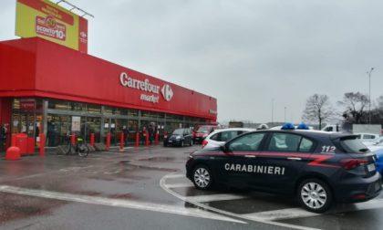 Ladri in azione a Caravaggio: svaligiato nella notte il Carrefour
